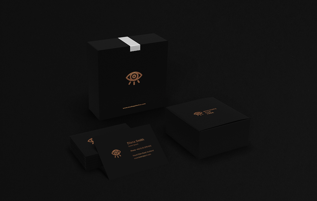 Corporate Boxes Mockup
