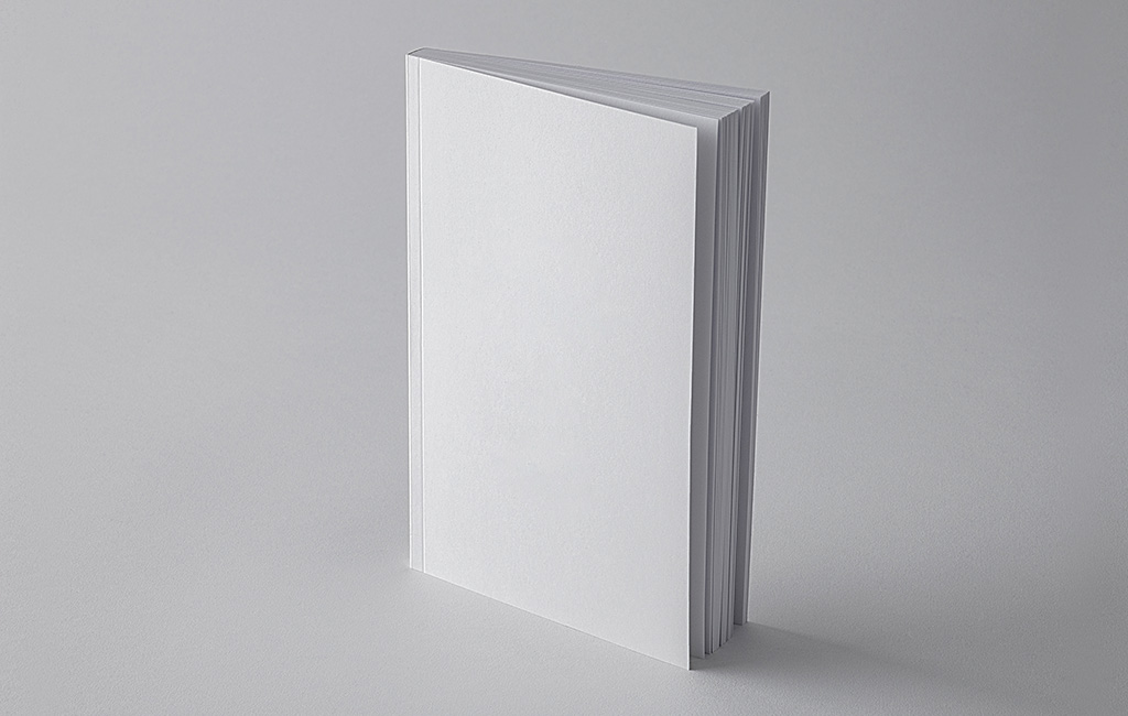 Book Cover Simple Mockup