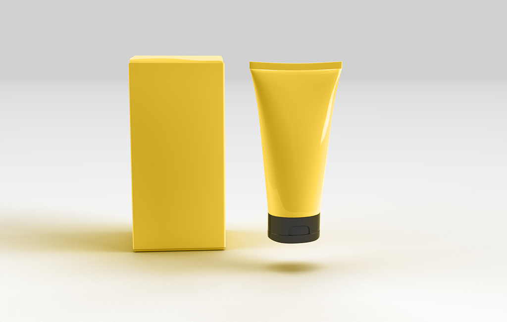 Cosmetic Box And Tube Mockup Free Download