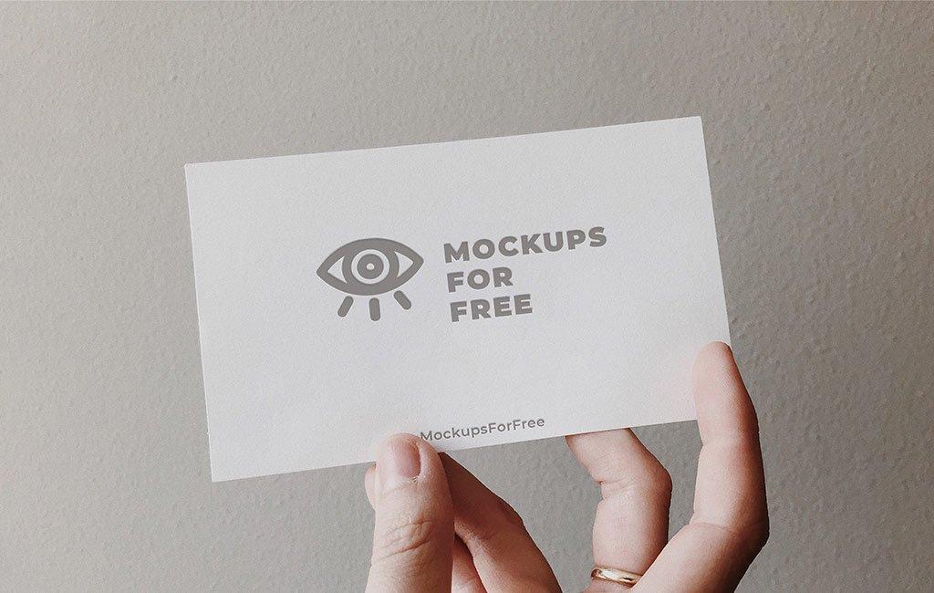 Free Card Mockup
