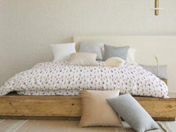 Bed Linen Mockup free download